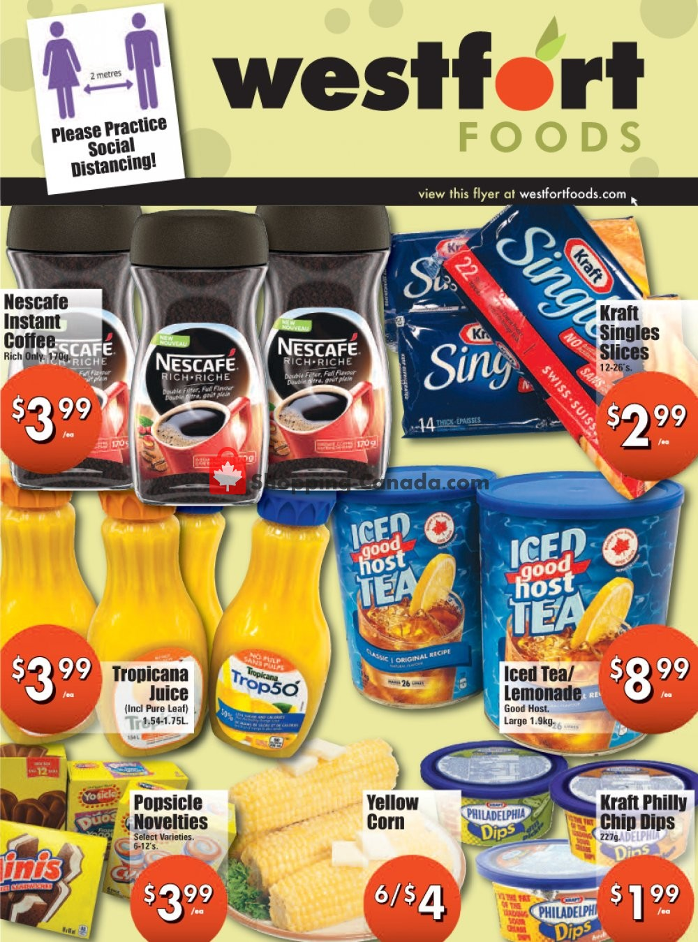 Flyer Westfort Foods Canada - from Friday May 29, 2020 to Thursday June 4, 2020