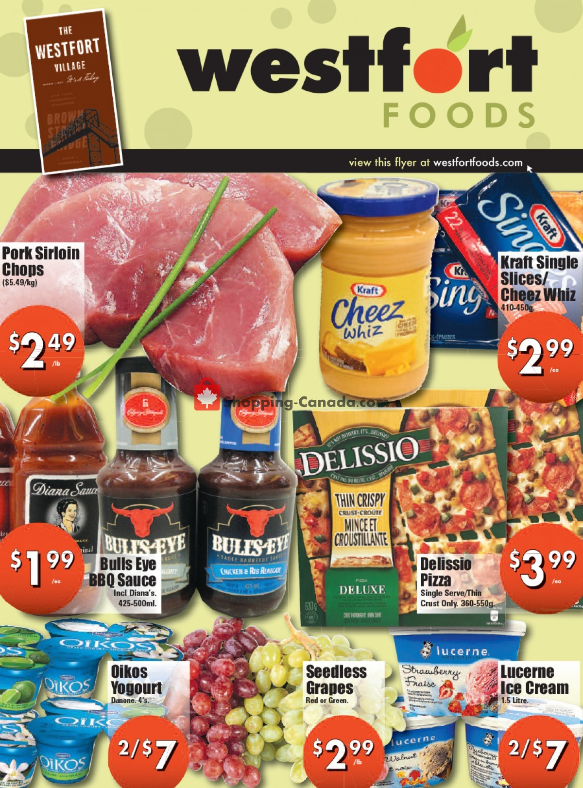 Flyer Westfort Foods Canada - from Friday June 4, 2021 to Thursday June 10, 2021