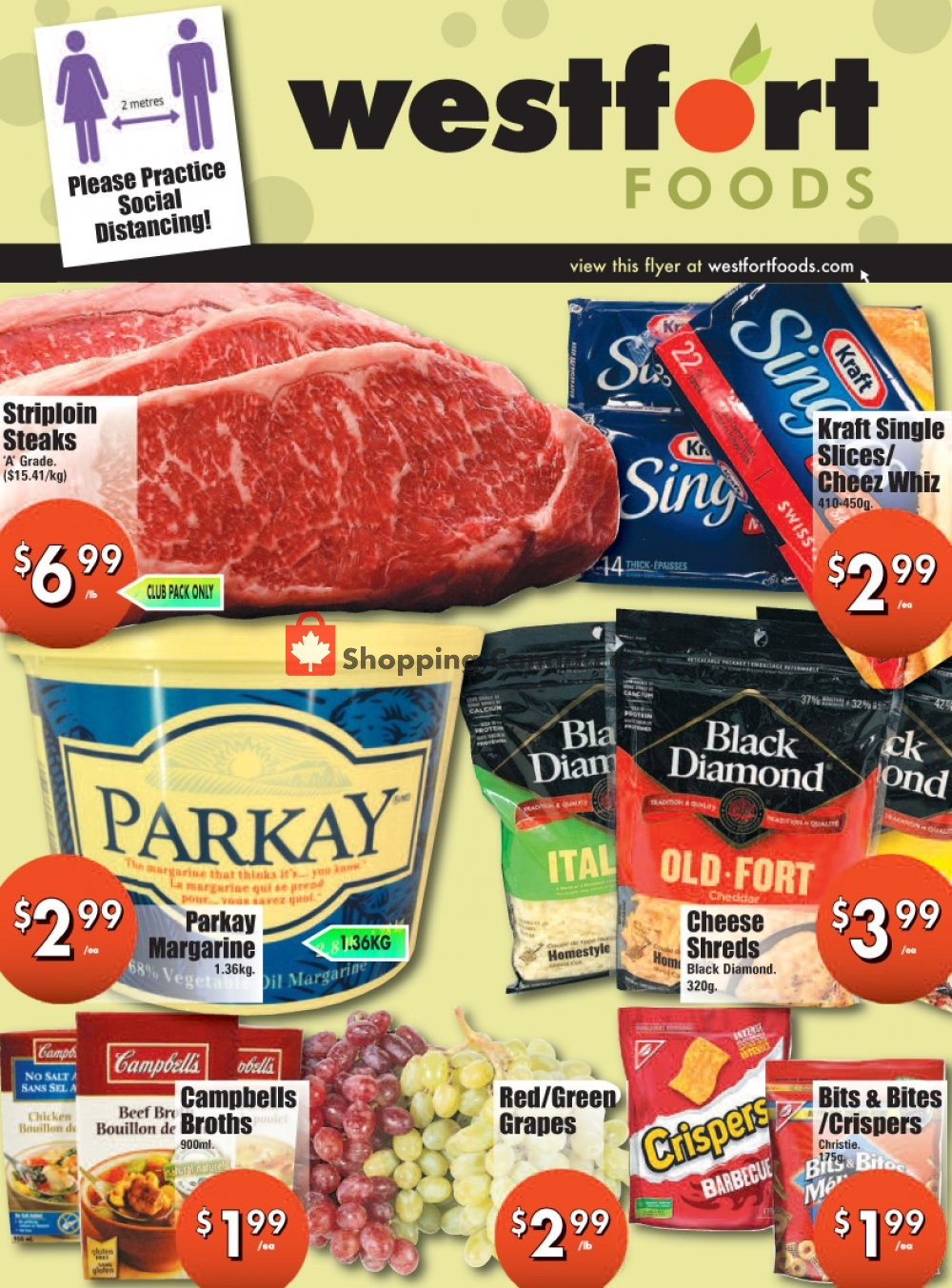 Flyer Westfort Foods Canada - from Friday July 10, 2020 to Thursday July 16, 2020