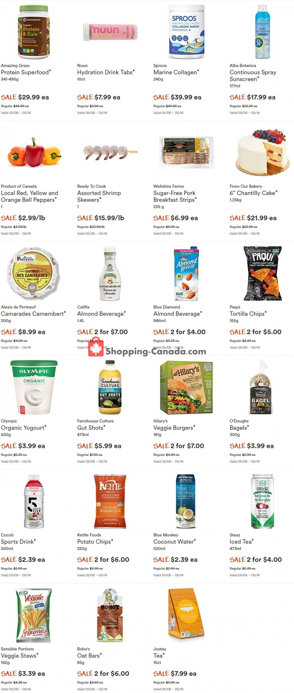 Flyer Whole Foods Market Canada - from Wednesday May 8, 2019 to Tuesday May 14, 2019