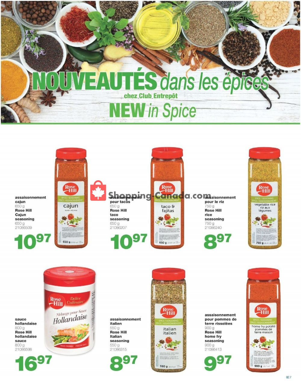 Flyer Wholesale Club Canada - from Thursday September 5, 2019 to Wednesday September 25, 2019