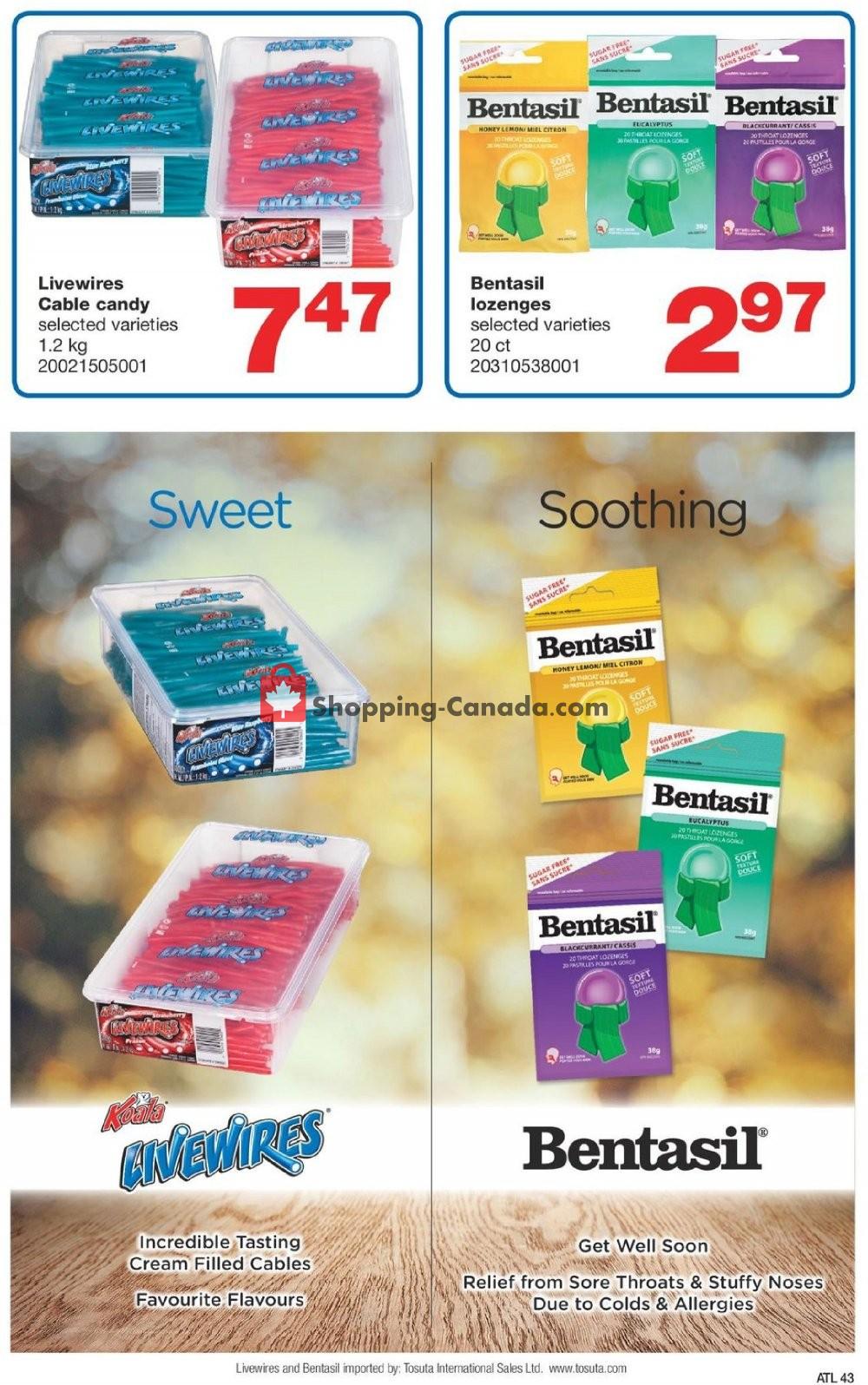 Flyer Wholesale Club Canada - from Thursday November 7, 2019 to Wednesday November 27, 2019