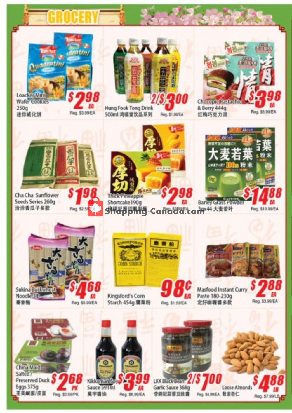 Flyer WinCo Food Mart Canada - from Thursday August 8, 2019 to Wednesday August 14, 2019
