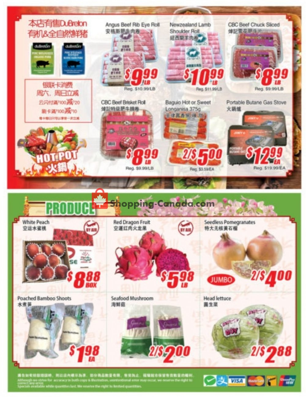 Flyer WinCo Food Mart Canada - from Thursday November 7, 2019 to Wednesday November 13, 2019