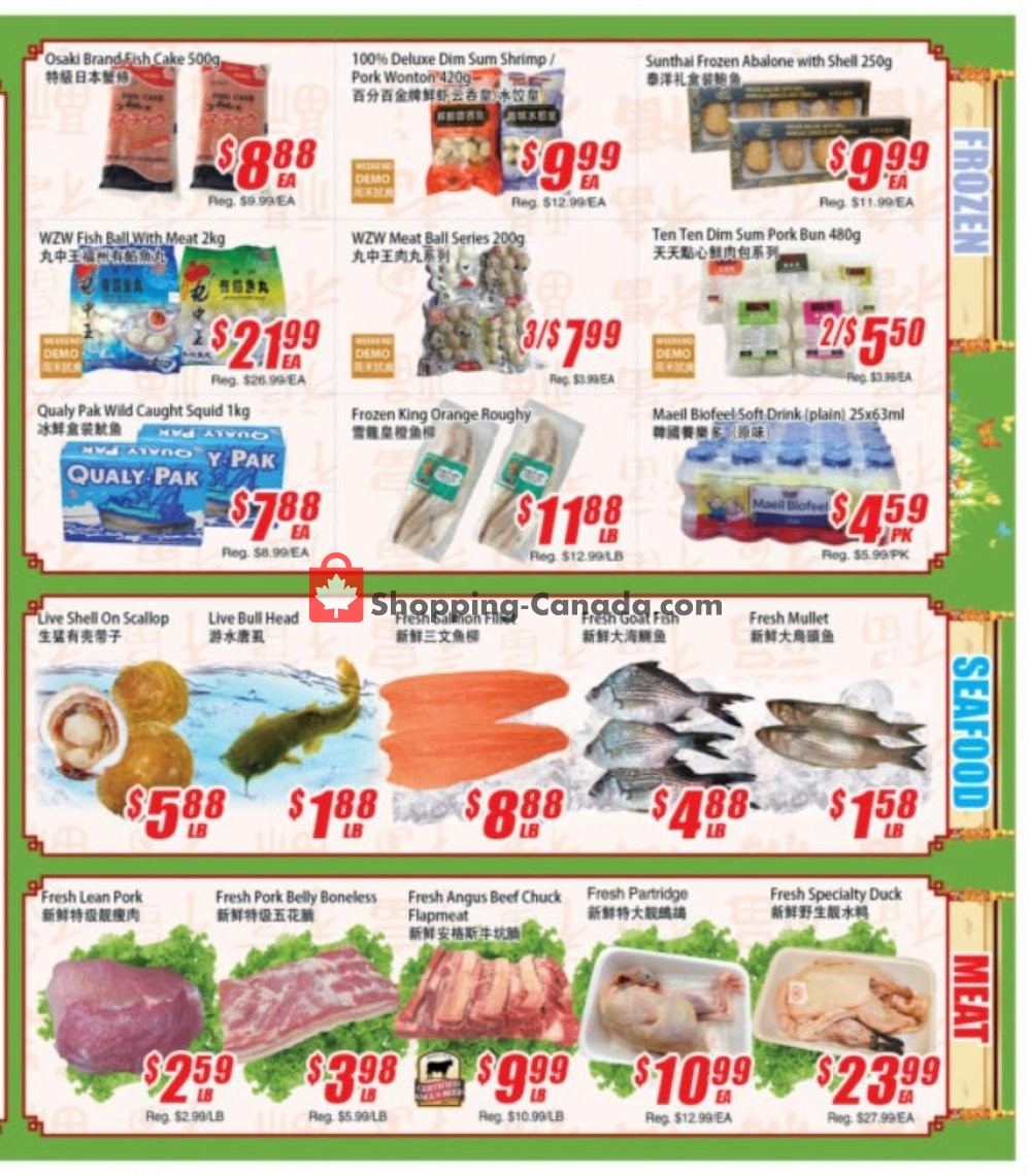 Flyer WinCo Food Mart Canada - from Thursday November 7, 2019 to Wednesday November 13, 2019