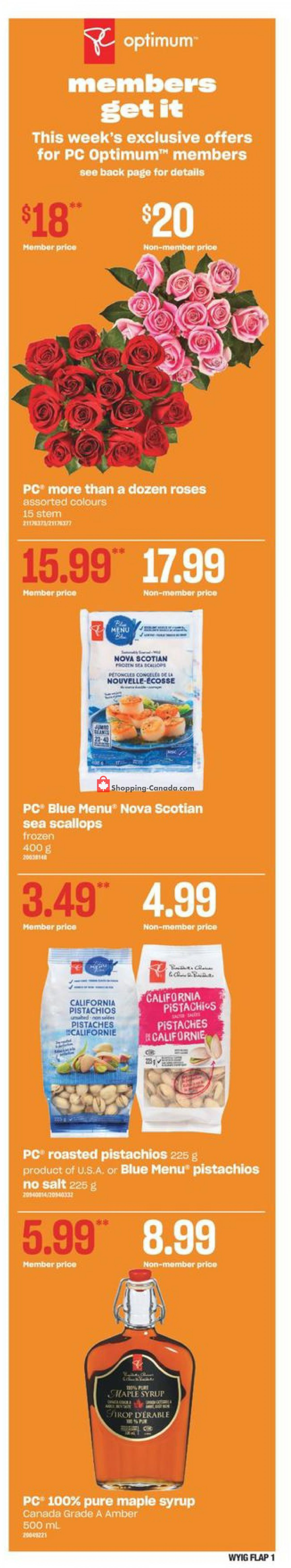 Flyer Your Independent Grocer Canada - from Thursday May 6, 2021 to Wednesday May 12, 2021