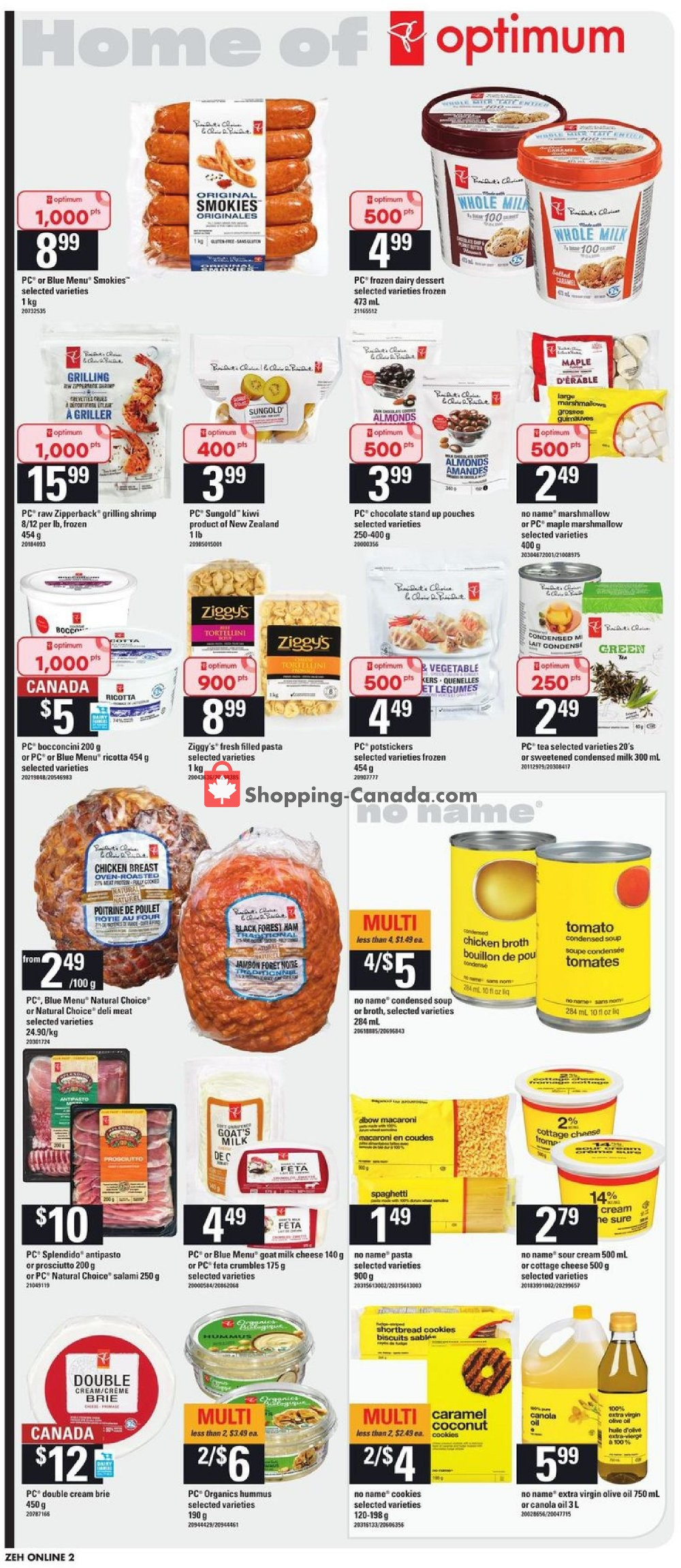Flyer Zehrs Canada - from Thursday August 8, 2019 to Wednesday August 14, 2019