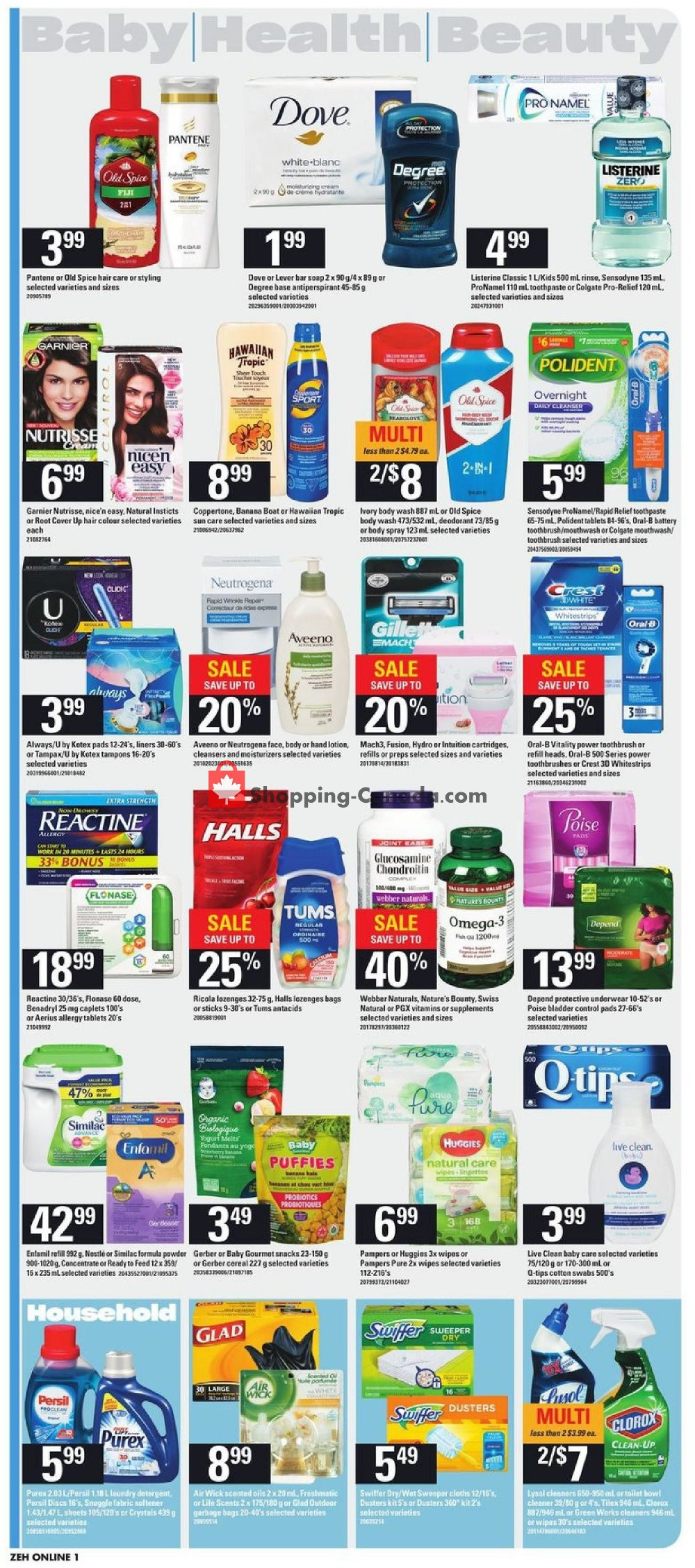 Flyer Zehrs Canada - from Thursday July 11, 2019 to Wednesday July 17, 2019