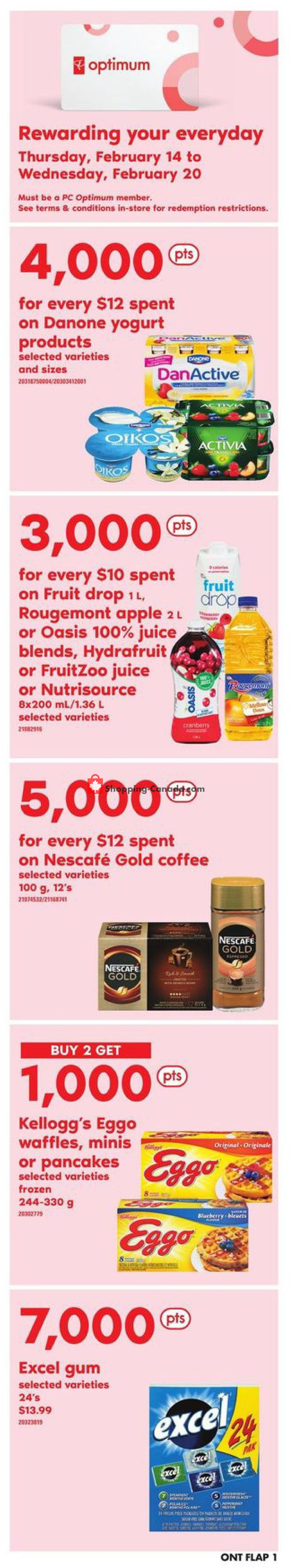 Flyer Zehrs Canada - from Thursday February 14, 2019 to Wednesday February 20, 2019