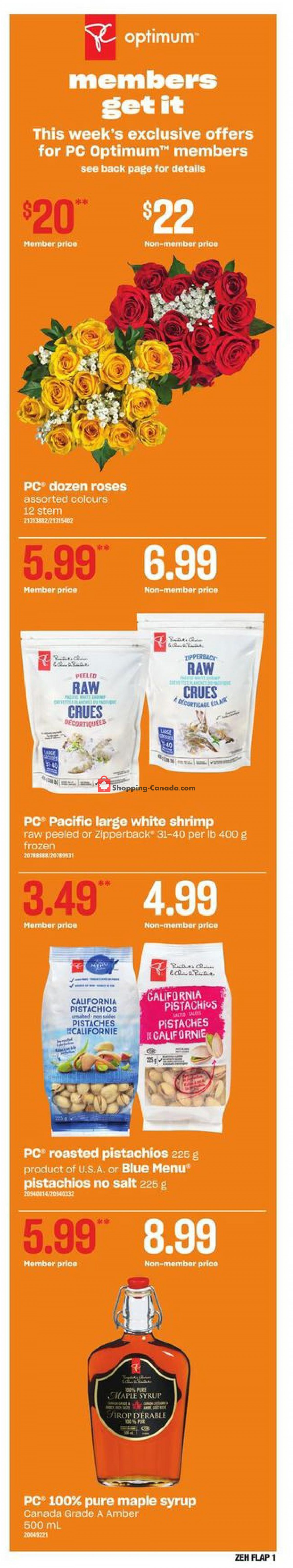 Flyer Zehrs Canada - from Thursday May 6, 2021 to Wednesday May 12, 2021