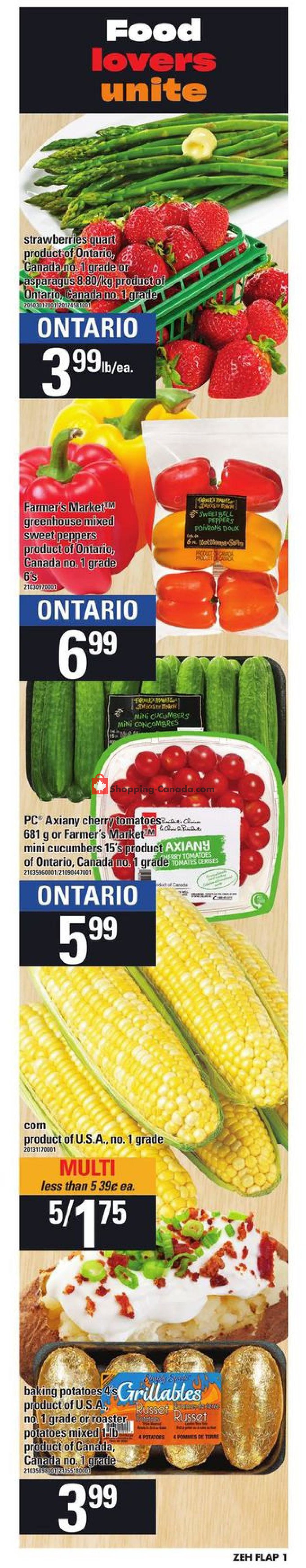 Flyer Zehrs Canada - from Thursday June 27, 2019 to Wednesday July 3, 2019